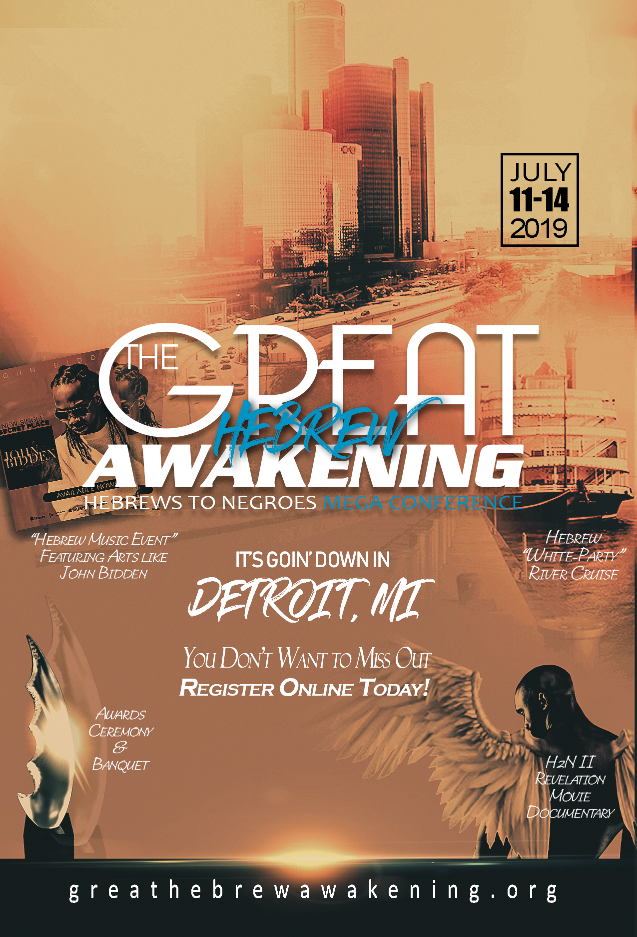 The Great Awakening: Hebrews to Negroes Mega conference