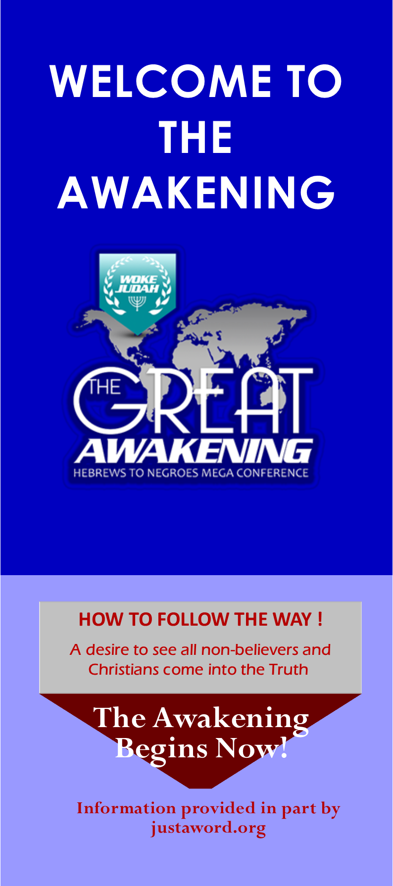 WELCOME TO THE AWAKENING TRACT